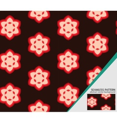 geometric seamless pattern for your design vector image