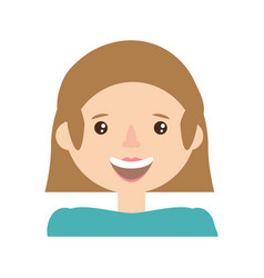 character woman female family member vector image