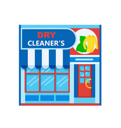Dry cleaners icon vector
