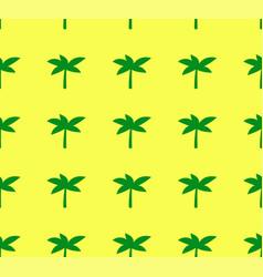 minimalistic palm tree seamless pattern vector image