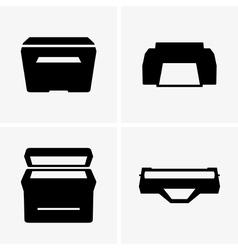 Printers and cartridge vector