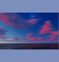 distorted glitch tv descendant network no signal vector image vector image
