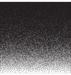 Halftone Dotwork Style Monochrome Gradient vector image vector image