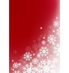vinous background with snowflakes vector image vector image