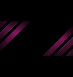 Abstract banner web design stripes geometric vector