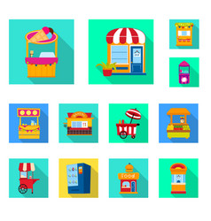 Amusement and store sign vector