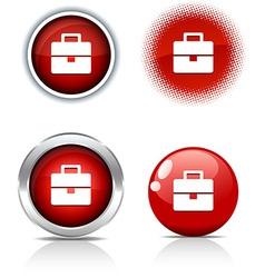 Bag buttons vector