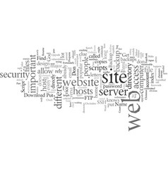Deliver your web site from evil part vector