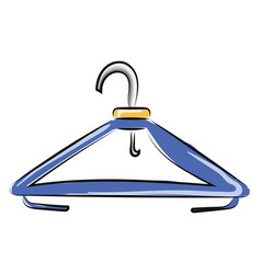 Hanger or color vector