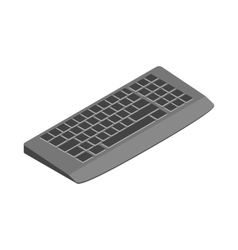Keyboard icon cartoon style vector image