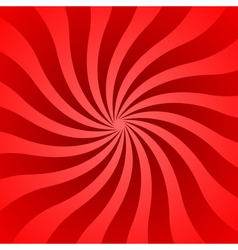 Red rays poster wave vector image