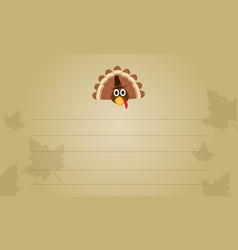 thanksgiving greeting card collection stock vector image