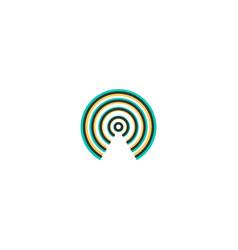 wireless internet icon design essential icon vector image