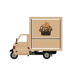 coffee car2 vector image vector image