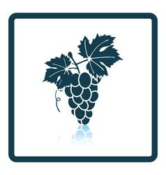 Icon of Grape vector image