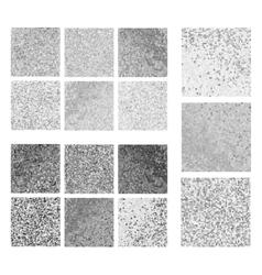 Abstract gray mosaic set vector image