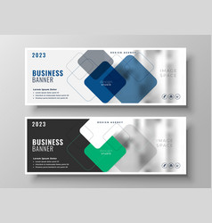 Creative corporate business banners design vector