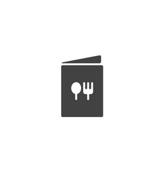food menu icon vector image