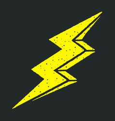 lightning bolt 001 vector image