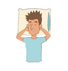 People slepping design vector