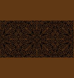 Rectangular seamless bandana print design vector