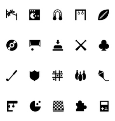 Video Game Icons 1 vector