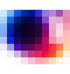 abstract mosaic composition vector image