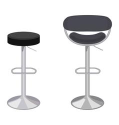 bar chair vector image