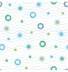 abstract geometric summer beach texture pattern vector image