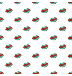 comic boom snap pattern seamless vector image