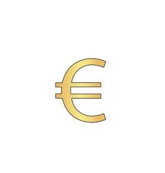 Euro computer symbol vector image
