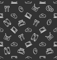 It seamless pattern vector