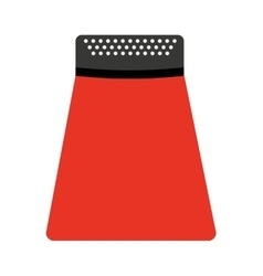Kitchen utensil grater isolated icon design vector