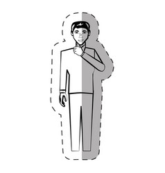 Man people male character vector