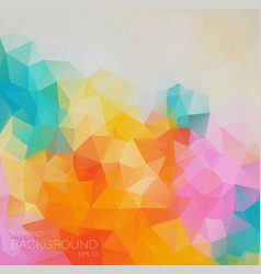 Multicolored abstract background with gradient vector