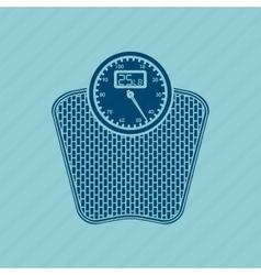 Scale icon design vector
