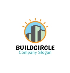 Build Circle Design vector image vector image