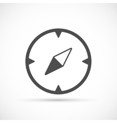 Compass basic icon vector image