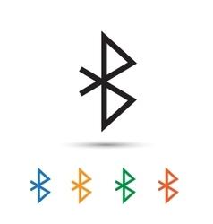 Bluetooth icon vector image vector image