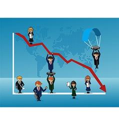 Finance bussines people vector