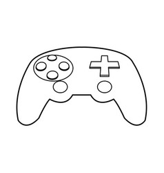 Game controller icon image vector