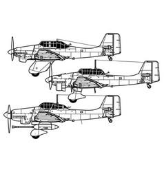 Junkers ju 87 stuka vector
