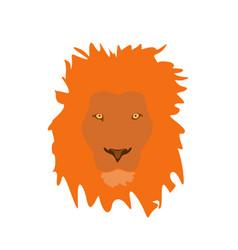 muzzle lion vector image