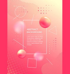 soft color background design with copyspace vector image