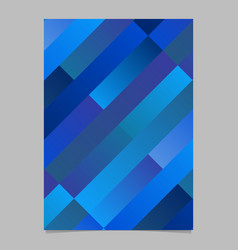 Trendy gradient abstract diagonal stripe poster vector
