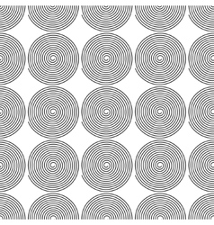 Monochrome abstract geometrical pattern vector image vector image