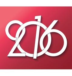2016 creative greeting card design vector image