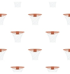Basketball hoop icon cartoon Single sport icon vector