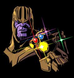 Infinity stones vector