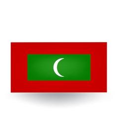Maldives Flag vector image